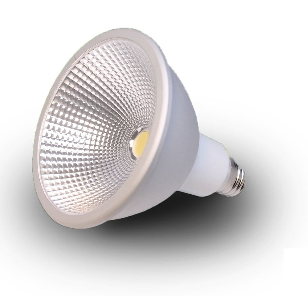 Norb is a PAR38 LED light bulb that grows healthy plants.