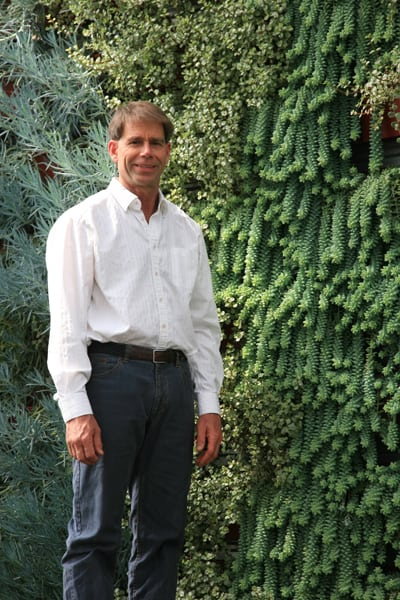 Photo Of Living Wall System Founder - LiveWall