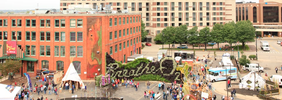 Breathe Living Art Installation in Grand Rapids Michigan Placed 5th in Installation Category of ArtPrize 2014