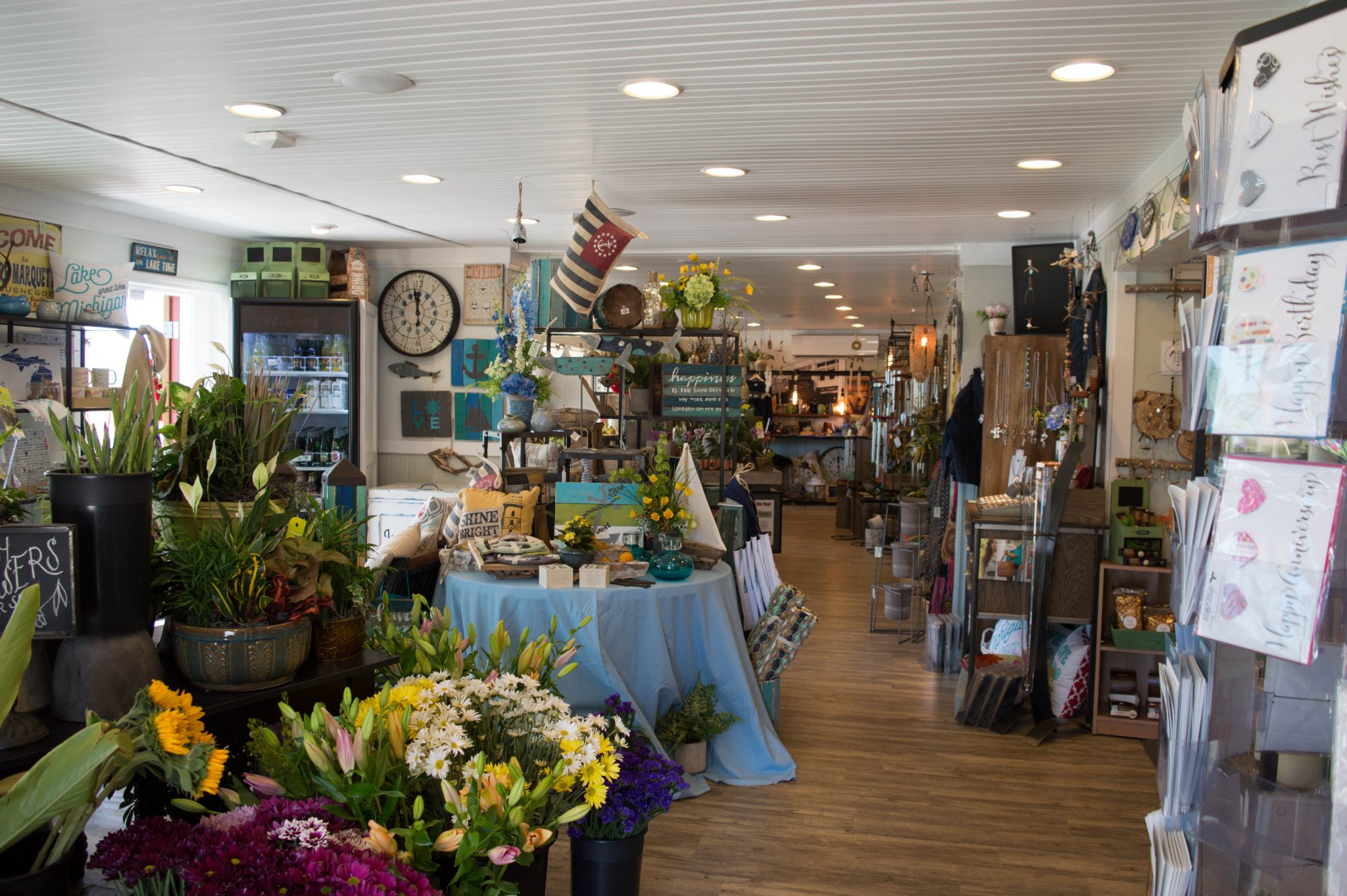 New living wall added to wassermans flowers gifts of muskegon flower and gift store negle Gallery