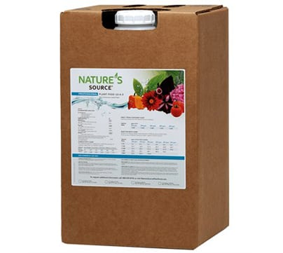 LiveWall supplies a liquid fertilizer tested for compatibility with LiveWall irrigation system and plants.