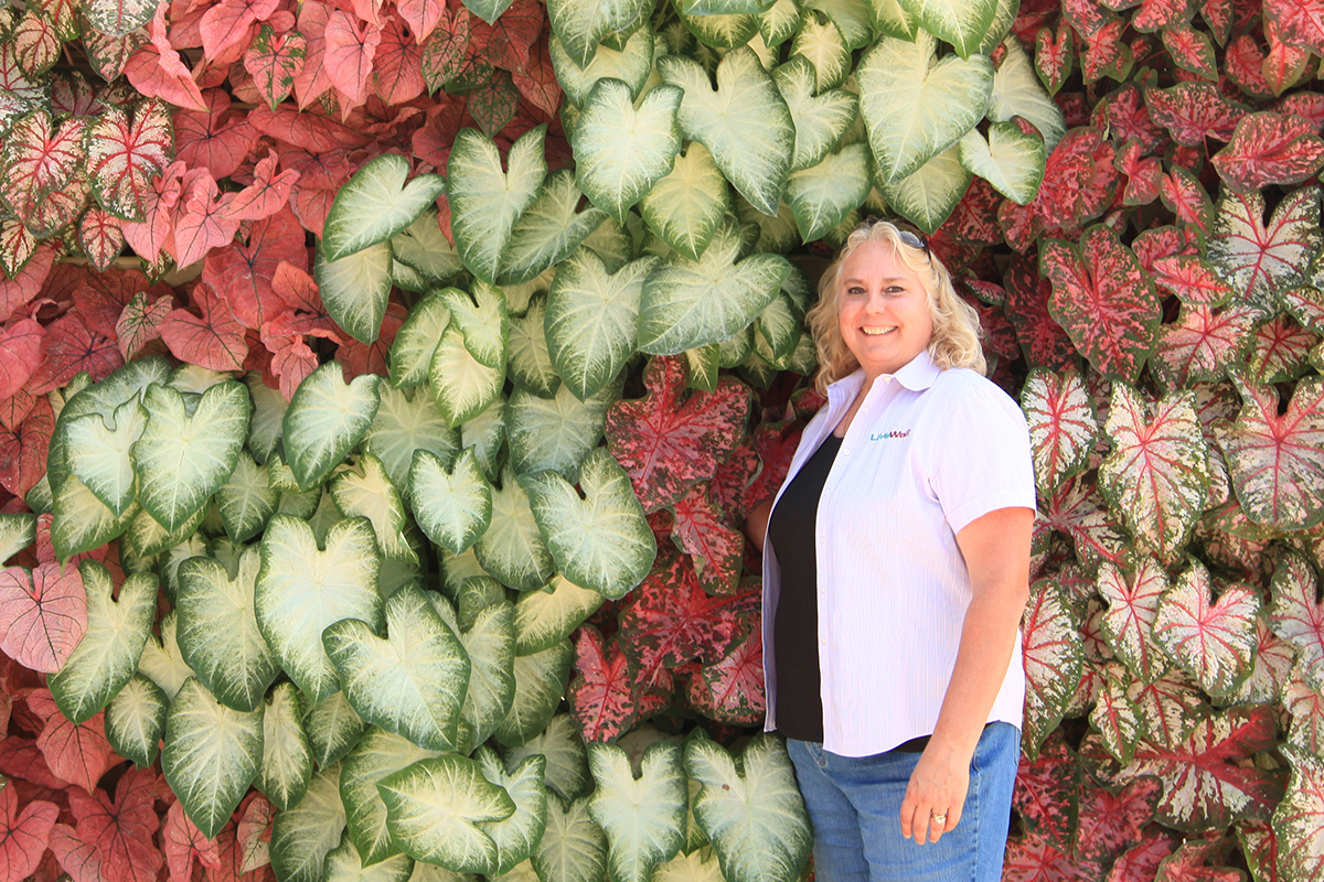 Lori May, LiveWall Sales Specialist, has been in the horticultural industry for over 30 years
