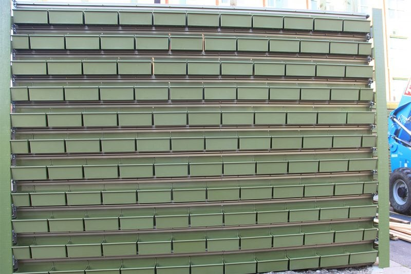 LiveWall Green Wall Structural Components