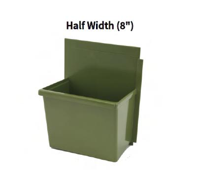 LiveWall Standard Size Planter (Half Width) in Sage Color