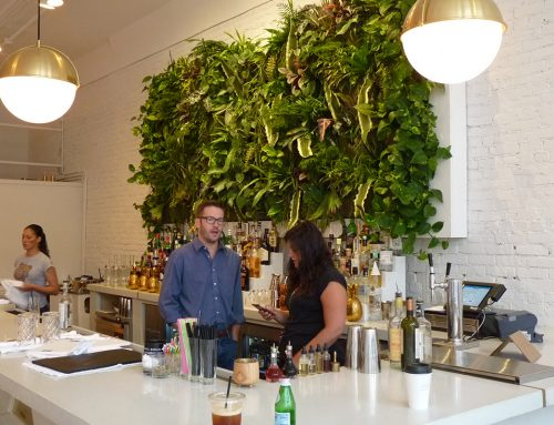 Harless + Hugh Public House Indoor Vertical Garden