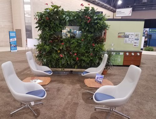 NBC Retail Environments Indoor Tropical Plant Wall