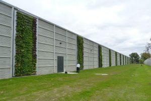 Data Center Green Walls - Planting Day