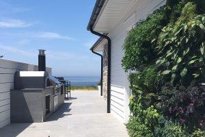 Freund Residence Vertical Garden Provides Fresh Herbs and Greens