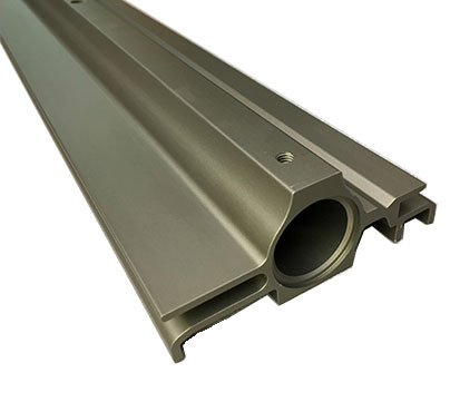 LiveWall patented RainRails serve a dual function as an irrigation conduit and slot rail for holding planters.